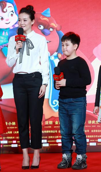 王艳、王泓钦母子