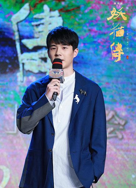 电影新闻 正文        刘昊然,欧豪在电影中出演大玩幻术的白鹤少年